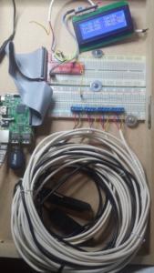 Meetkast diverse sensoren actief