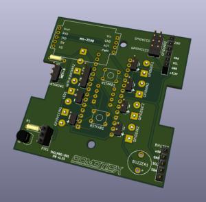 Multisensor Modbus RTU RS485 HW v1.21 print